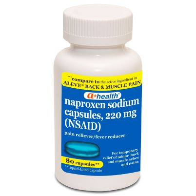 A+ NapSod Back and Muscle 80ct